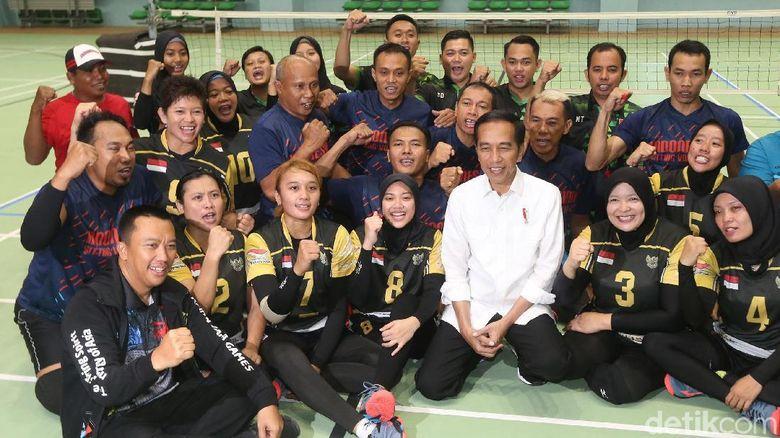 Jokowi Targetkan Indonesia 8 Besar Asian Para Games