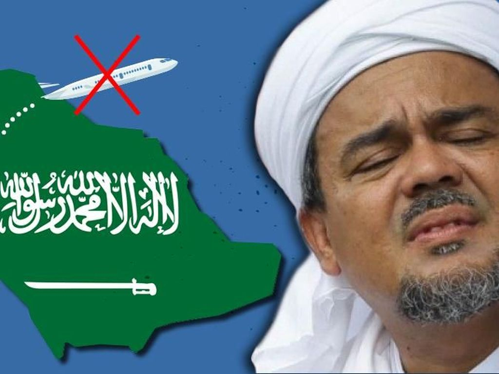 Habib Rizieq Haramkan Mendukung Partai Penista Agama