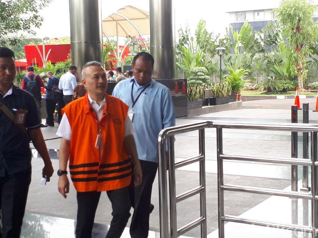 KPK Periksa Tersangka Suap DPRD Sumut M Faisal