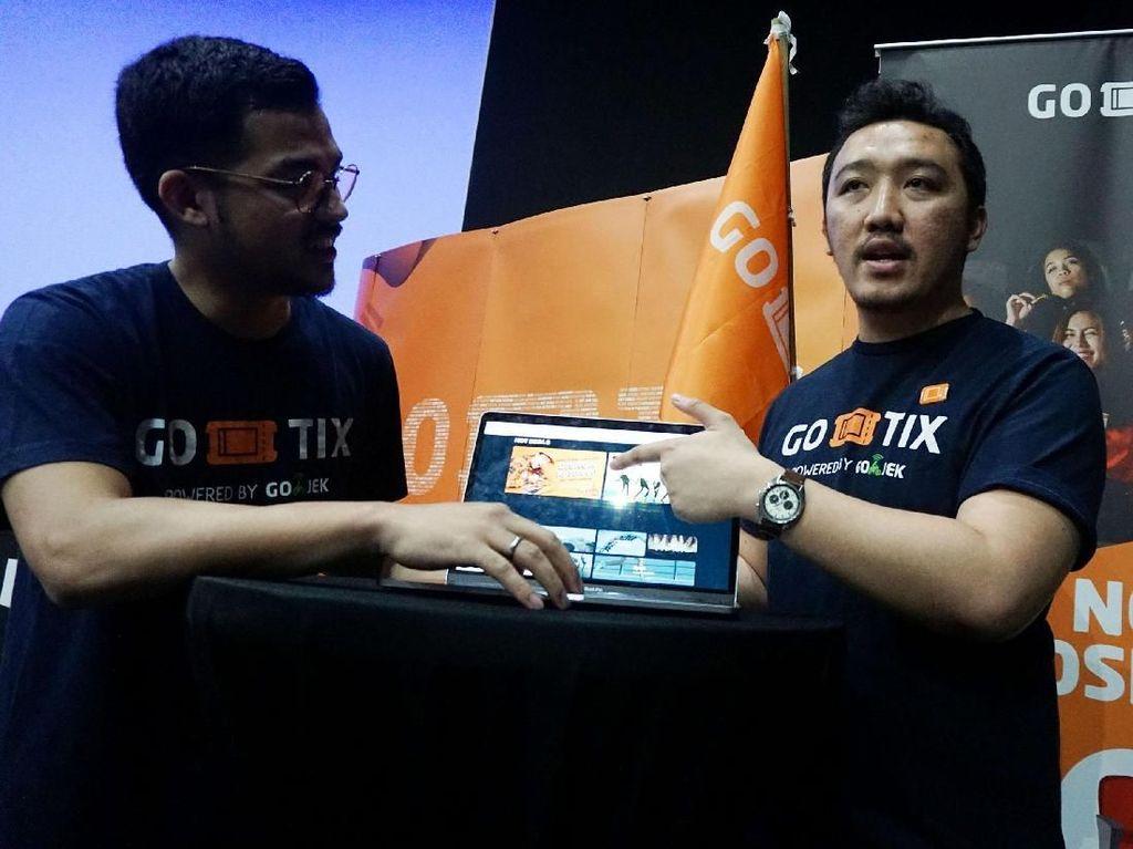 Penyempurnaan Layanan Go-Tix via Website