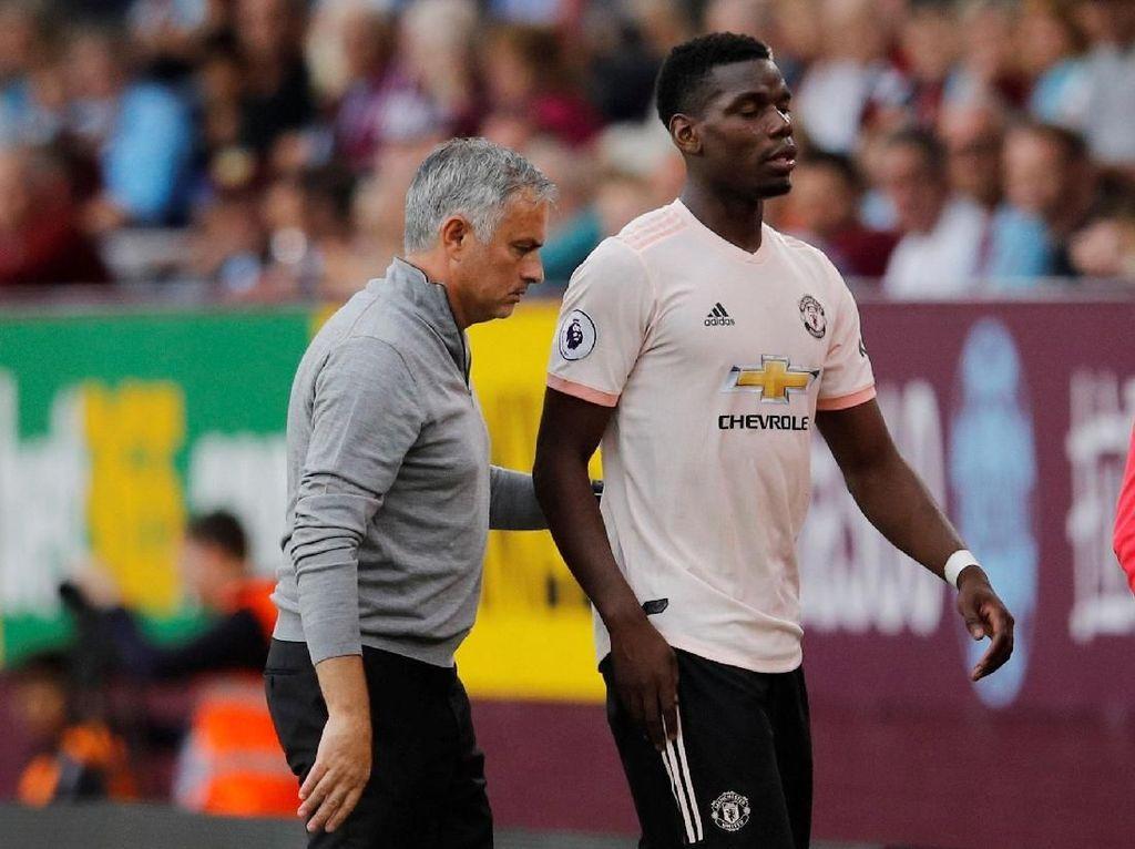 Ribut-Ribut Pogba dan Mourinho karena Postingan Instagram