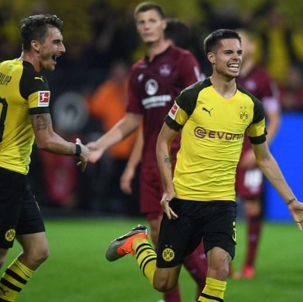 Hasil Liga Jerman: Dortmund Bantai Nuernberg 7-0