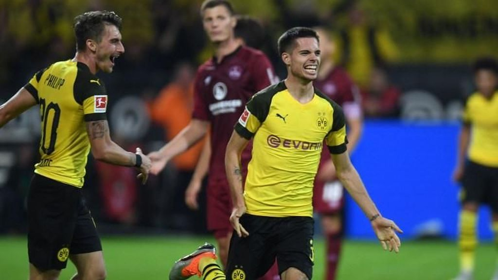 Video: Dortmund Gunduli Nuernberg 7-0