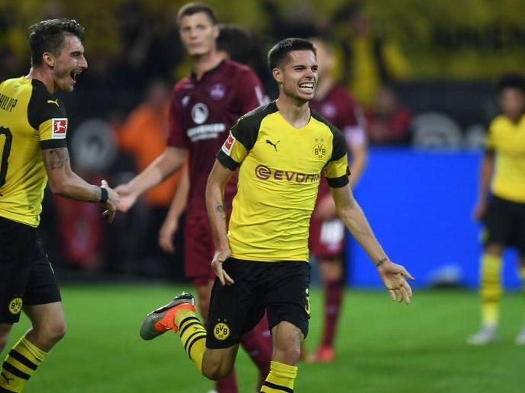 Video: Dortmund Gunduli Nuernberg 7-0