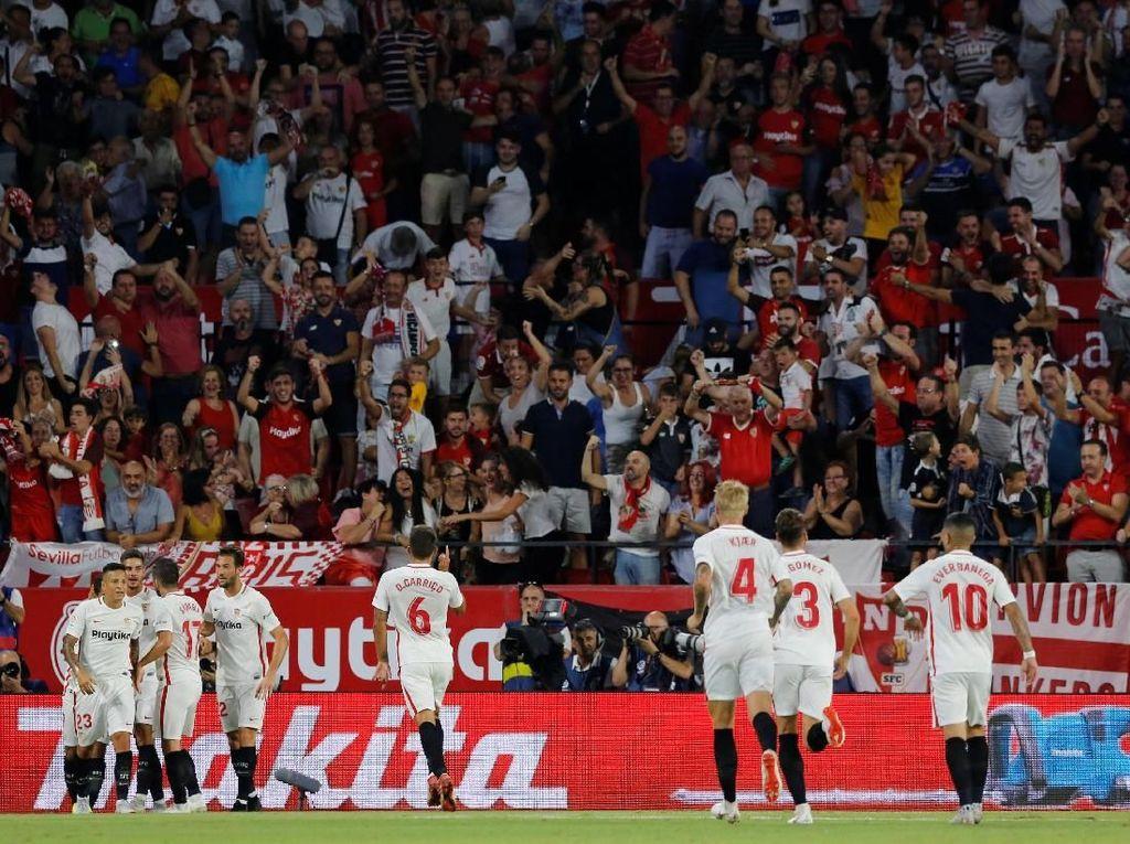 Hasil Liga Spanyol: Sevilla Puncaki Klasemen