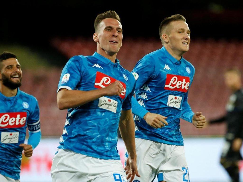 Hasil Liga Italia: Milik Dua Gol, Napoli Hantam Parma 3-0