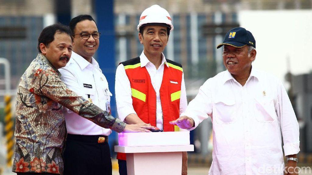 Jokowi Resmikan Tol Depok-Antasari Seksi I