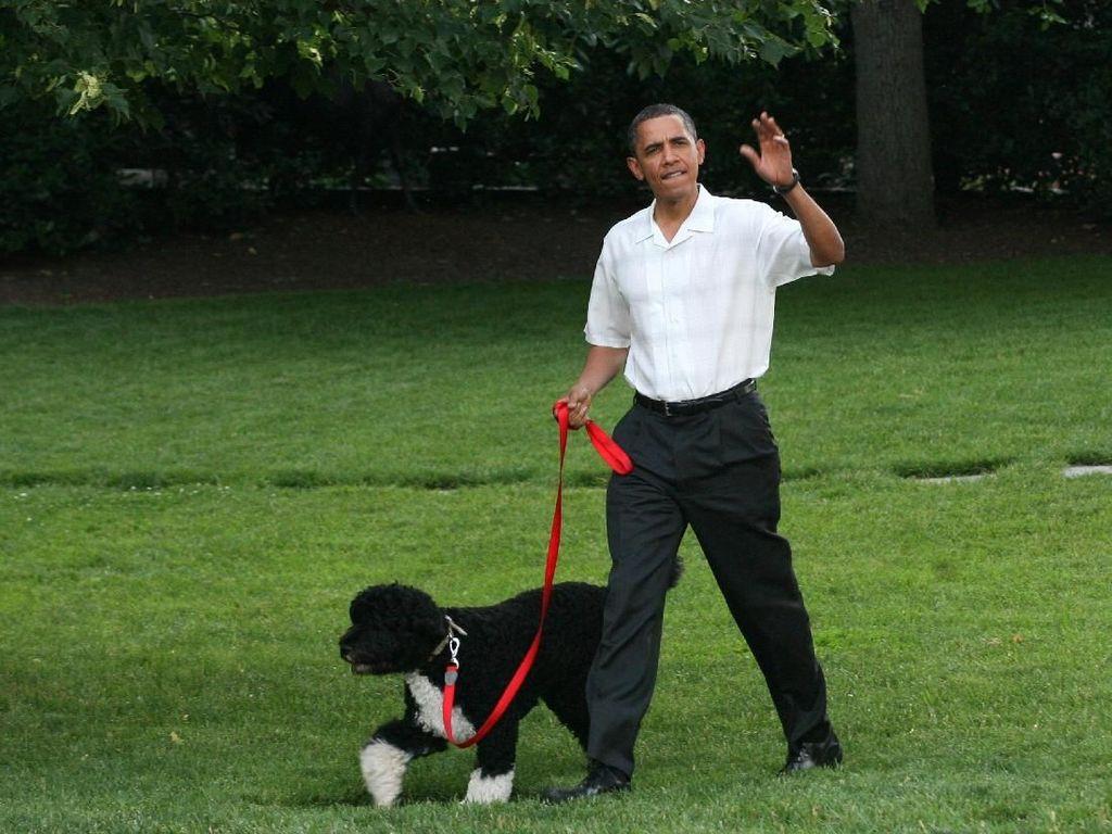 Soekarno sampai Barrack Obama, Tokoh Politik yang Punya Peliharaan (1)