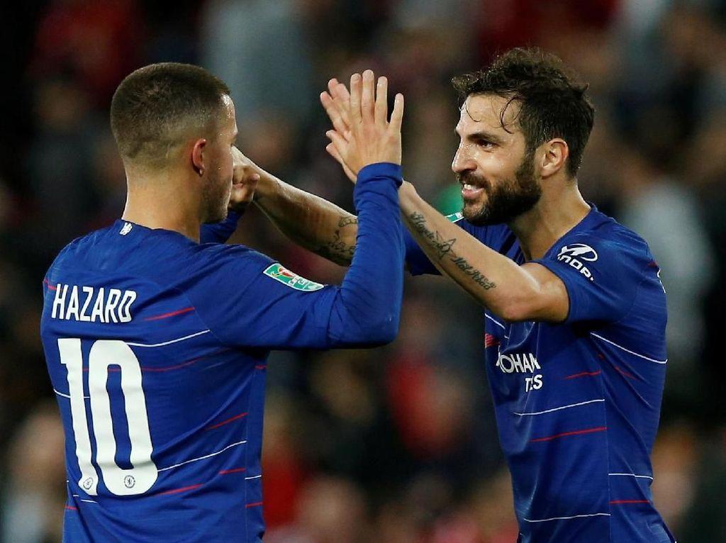 Fabregas Peringatkan Chelsea: Tahun Depan Bakal Sulit Pertahankan Hazard