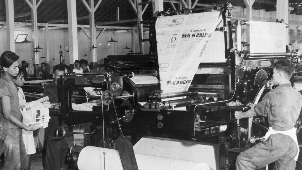 Potret Buruh Pabrik Tempo Dulu