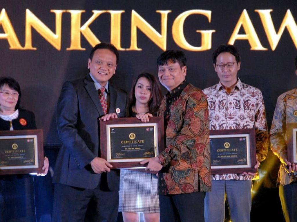 Penghargaan untuk Perbankan Digital