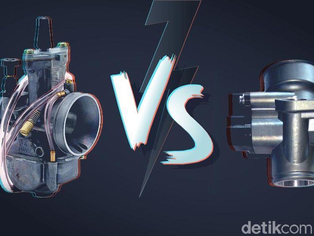 Rawat Motor Injeksi Lebih Mudah daripada Motor Karbu
