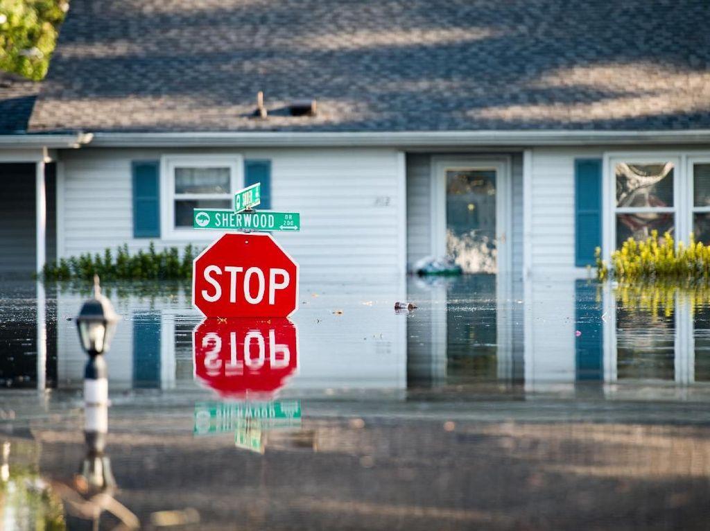 Dampak Badai Florence, Banjir Rendam Wilayah South Carolina AS