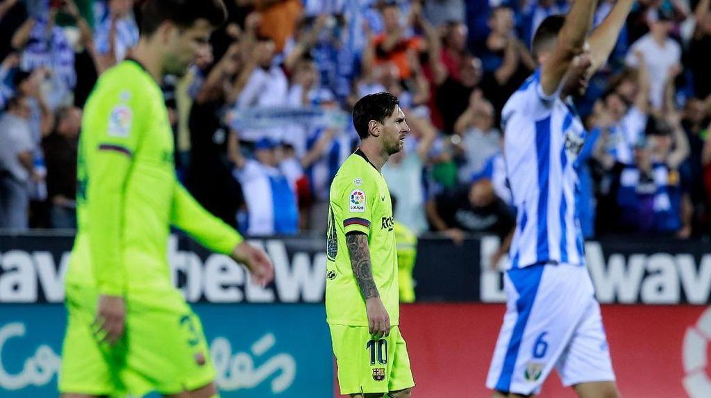 Barcelona Tumbang oleh Tim Juru Kunci