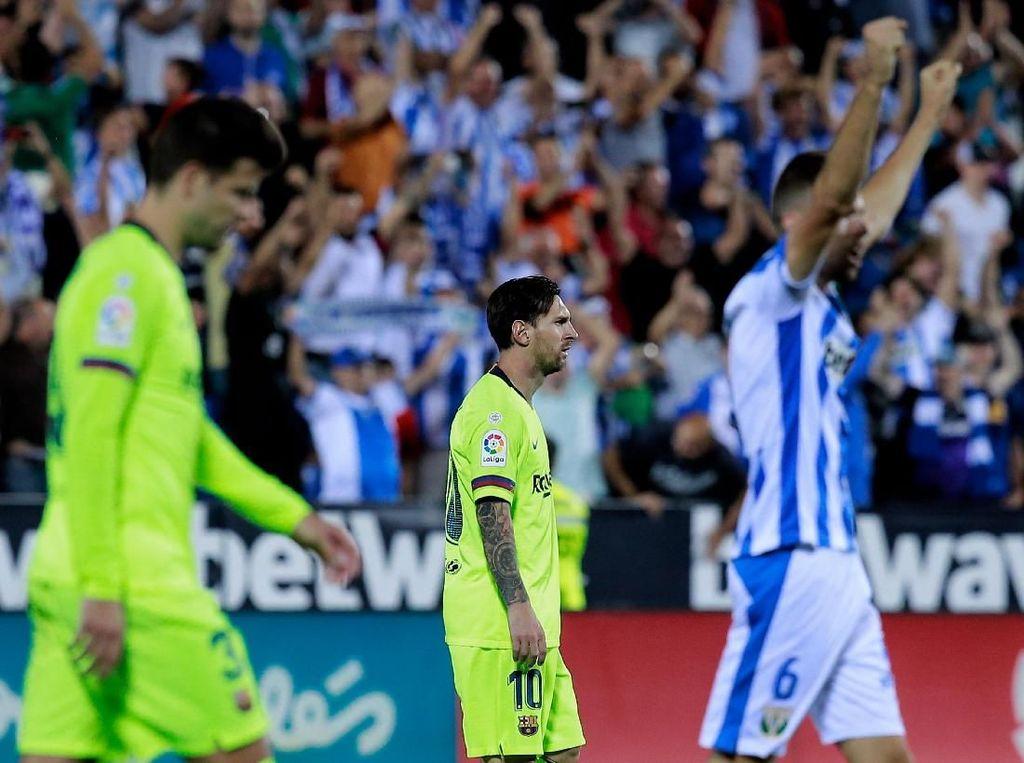 Kiper Leganes: Barcelona adalah Pecundang yang Buruk