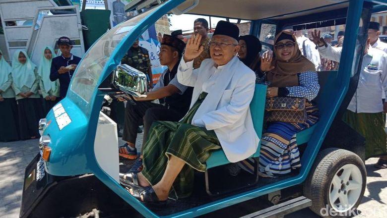 Maruf Optimistis Mobil Listrik Buatan Santri Jember Makara Mobnas