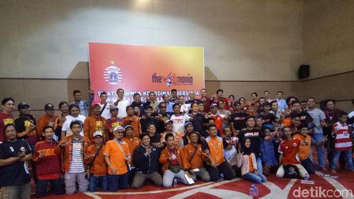 Persija Jakarta mengadakan pertemuan dengan Polri dan The Jak (Amalia Dwi Septi/detikSport)