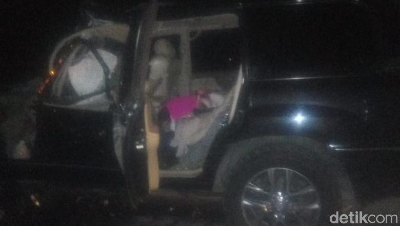 Mobil Kapolres Tulungagung Kecelakaan di Tol Akibat Sopir Ngantuk