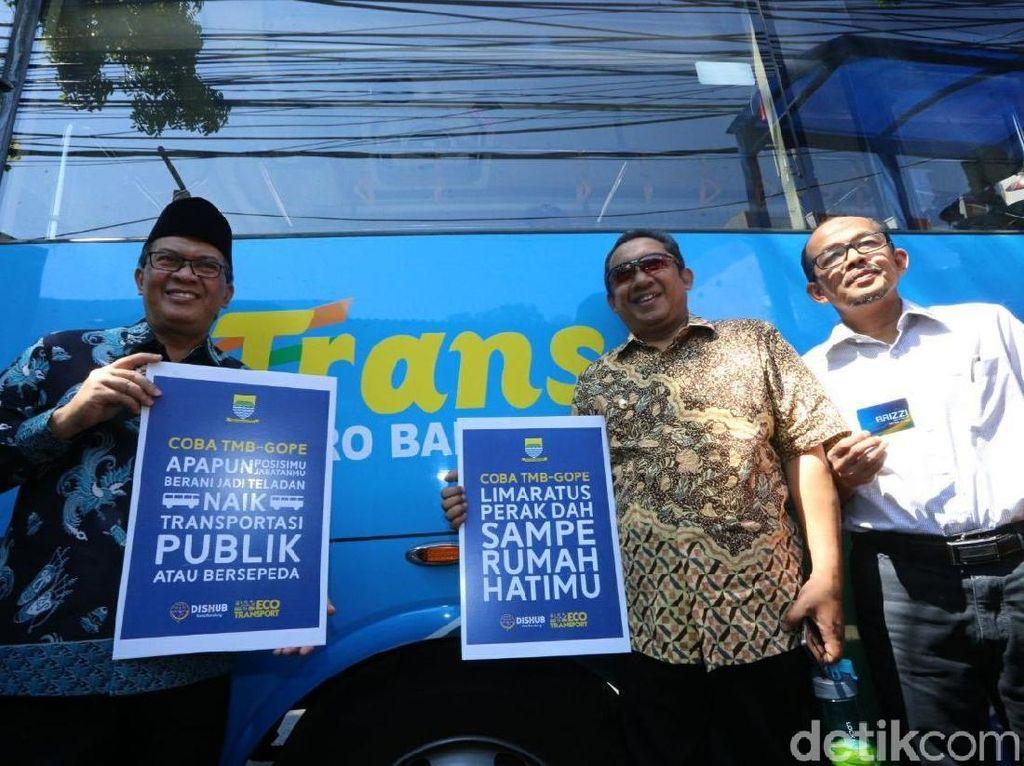 Buat Warga Bandung, Selama 3 Minggu Naik TMB Cuma Rp 500