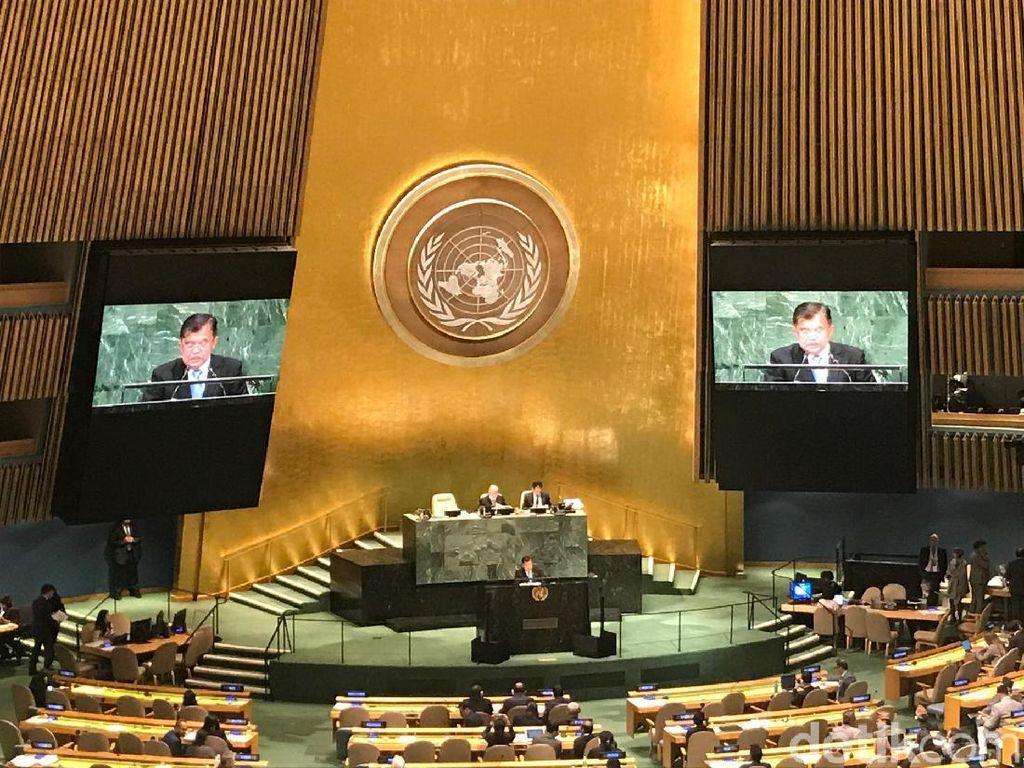 Bom Surabaya Dibahas JK di Sidang Umum PBB