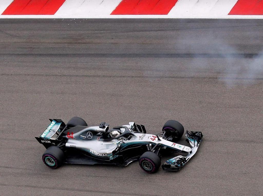 Hamilton Tercepat di Sesi Kedua Latihan Bebas GP Rusia