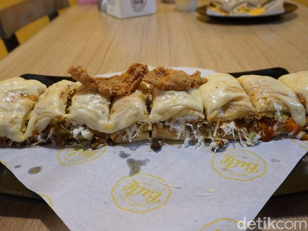 Kedai Roti Bule: Yummy! Roti Long John Mozzarella yang Kekinian