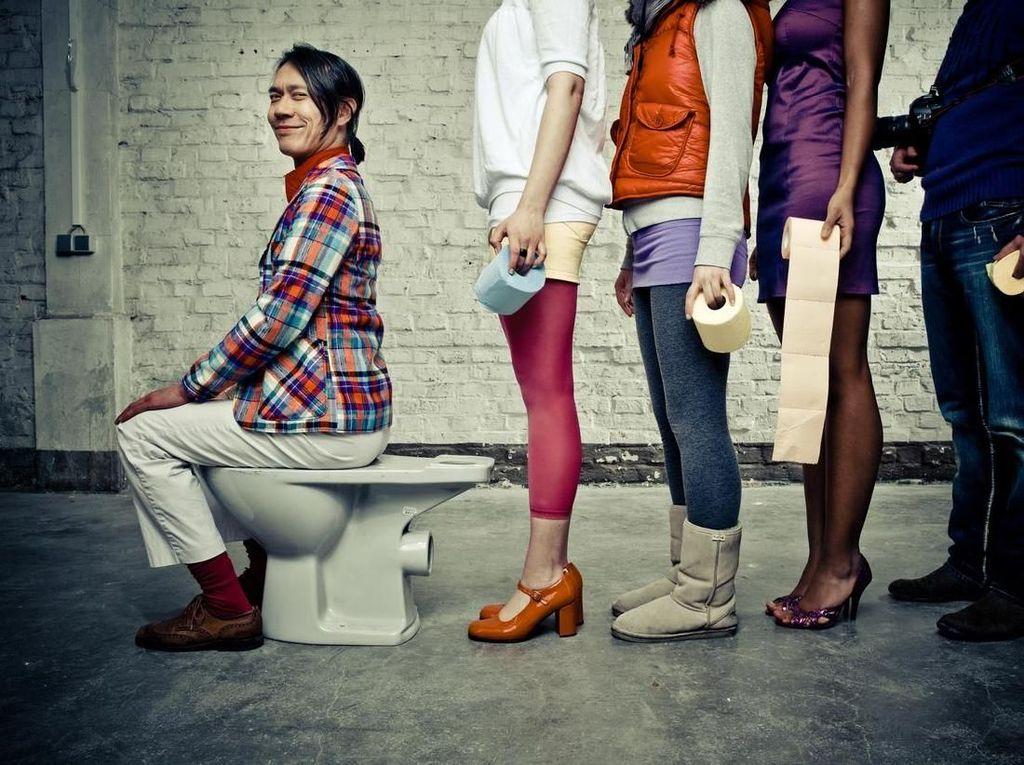 Herpes Genital Menular Lewat Toilet Umum, Benarkah?