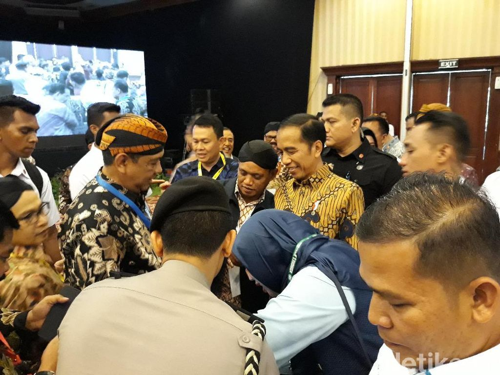 Setelah dari Yogya, Jokowi Buka Kongres XXIV PWI di Solo