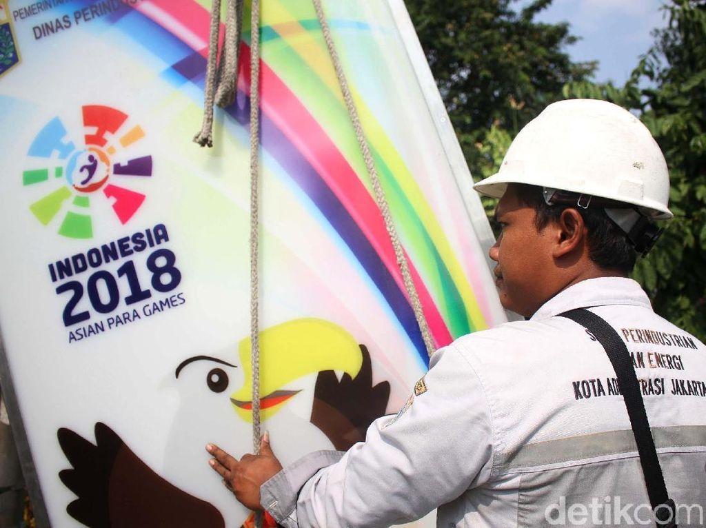 GBK Berdandan Sambut Asian Para Games 2018