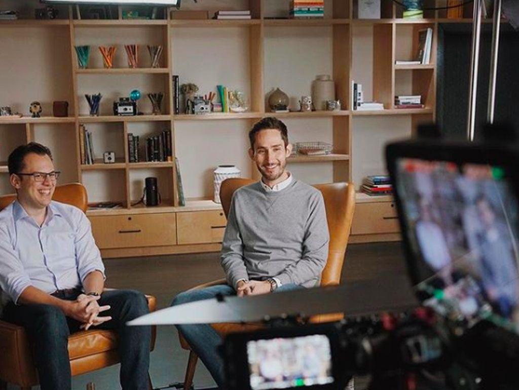Kompaknya Duet Pendiri Instagram yang Tinggalkan Facebook