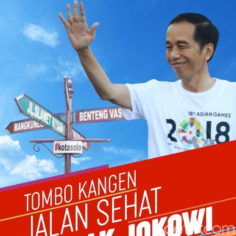 Jokowi Perintahkan Langsung Perubahan Acara Jalan Sehat di Solo