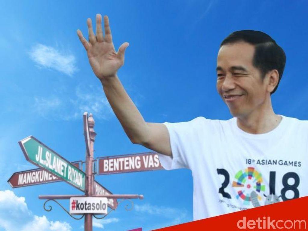 Dilarang Wali Kota, Jalan Sehat Jokowi di Solo Diubah Jadi Ini