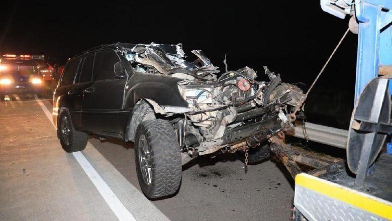 Detik-detik Sebelum Mobil Kapolres Tulungagung Alami Kecelakaan