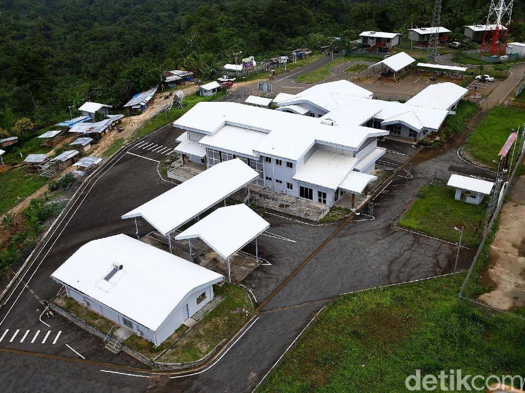 Begini Penampakan Papua Nugini dari PLBN Skouw