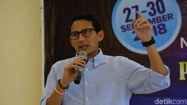 Sandiaga Uno akan Laporkan Ratna Sarumpaet yang Ternyata Berbohong