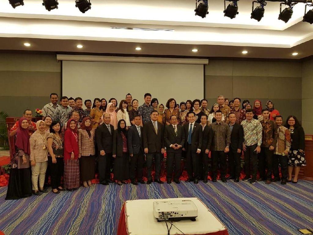 Puluhan Pengusaha RI-Kamboja Ramaikan Business Meeting di Phnom Penh