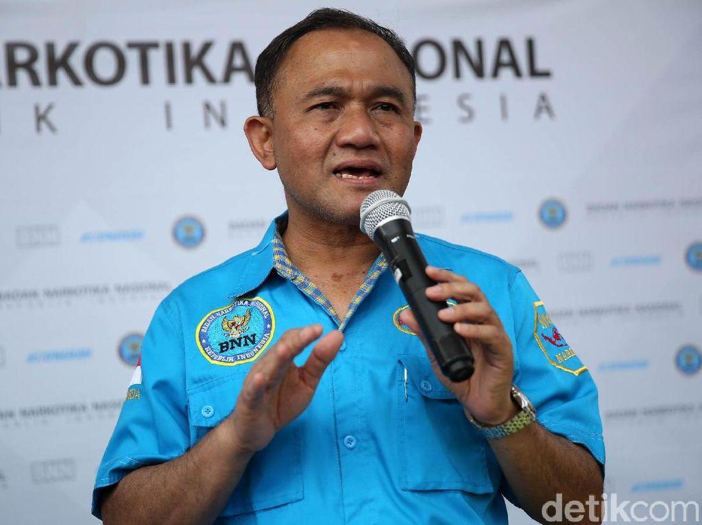 Kepala BNN Kini Dapat Fasilitas Setara Menteri