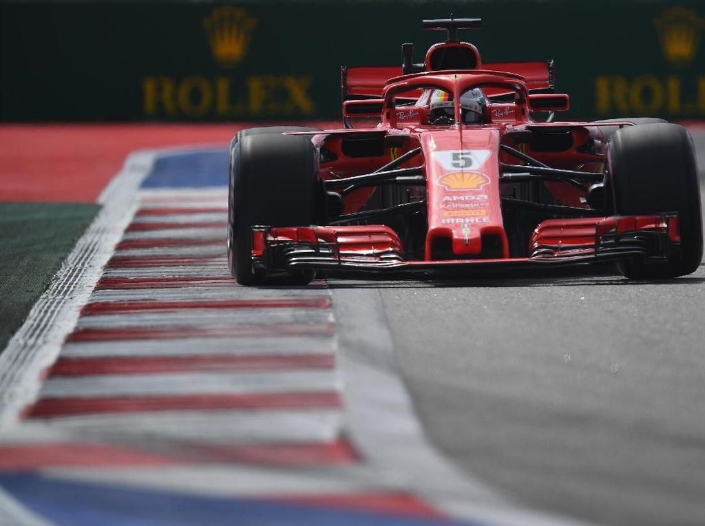 Free Practice I GP Rusia: Ungguli Verstappen, Vettel Tercepat
