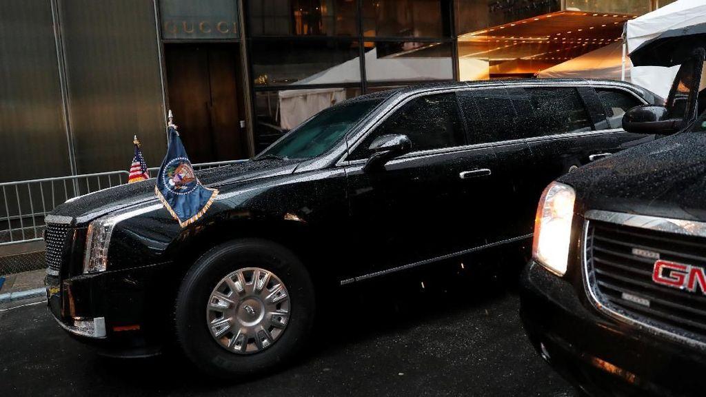 Mobil Kepresidenan Donald Trump Makin Keren