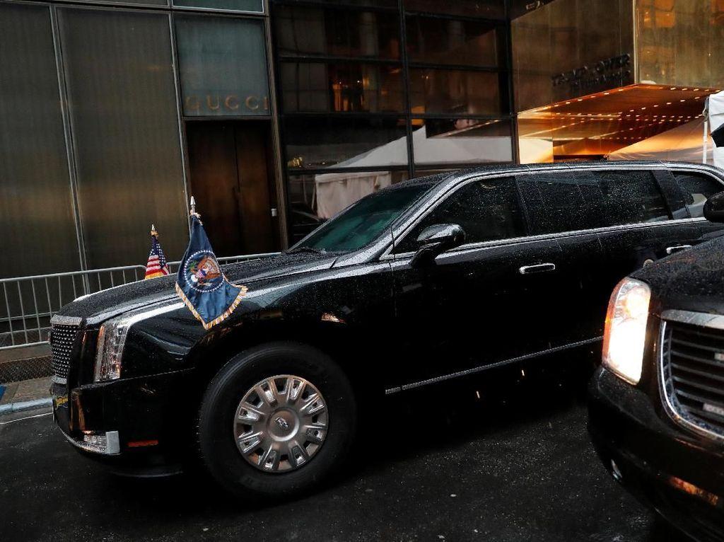 Trump Boikot Goodyear, Ancam Ganti Ban Mobil Dinasnya