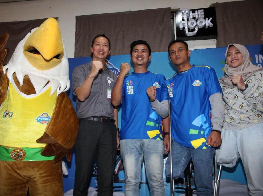Campina Dukung Asian Para Games 2018