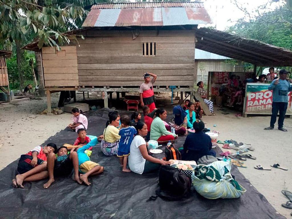 Gempa 7,7 SR Guncang Donggala, 1 Orang Tewas 10 Terluka