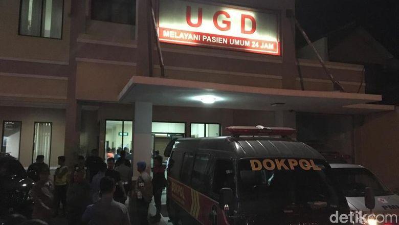 Korban Kecelakaan Mobil Kapolres Tulungagung Dirujuk ke RS Bhayangkara