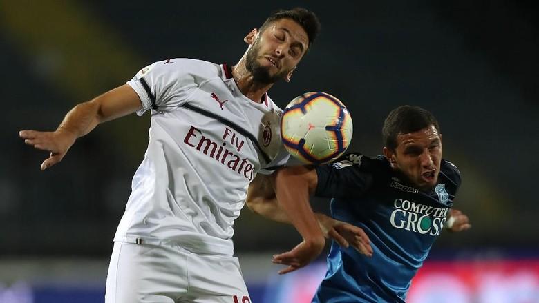 Hasil Liga Italia: Milan Diimbangi Empoli