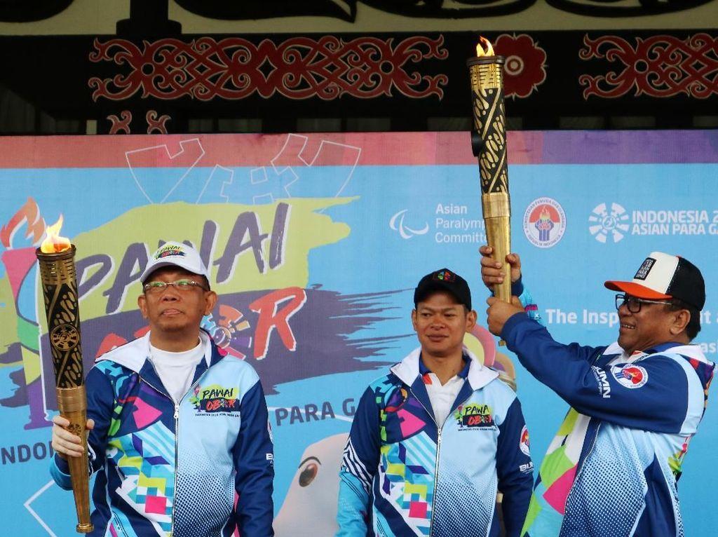 Obor Asian Para Games Tak Singgah di Istana