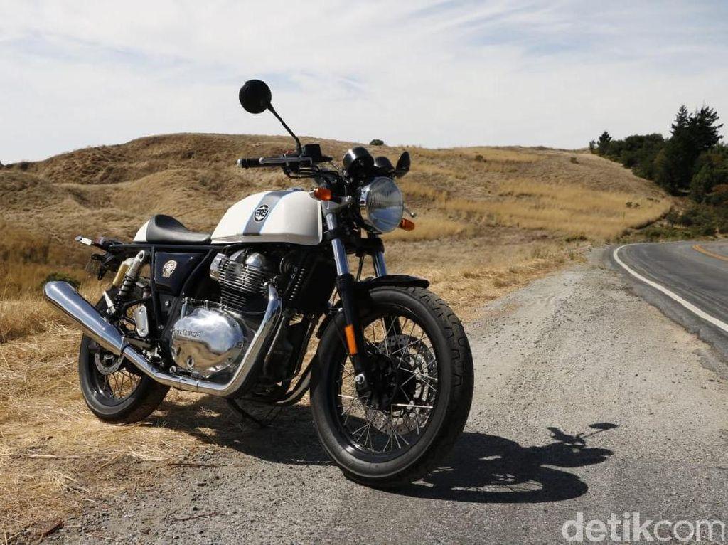 Menelusuri Jalur Perbukitan California dengan Motor 650 cc