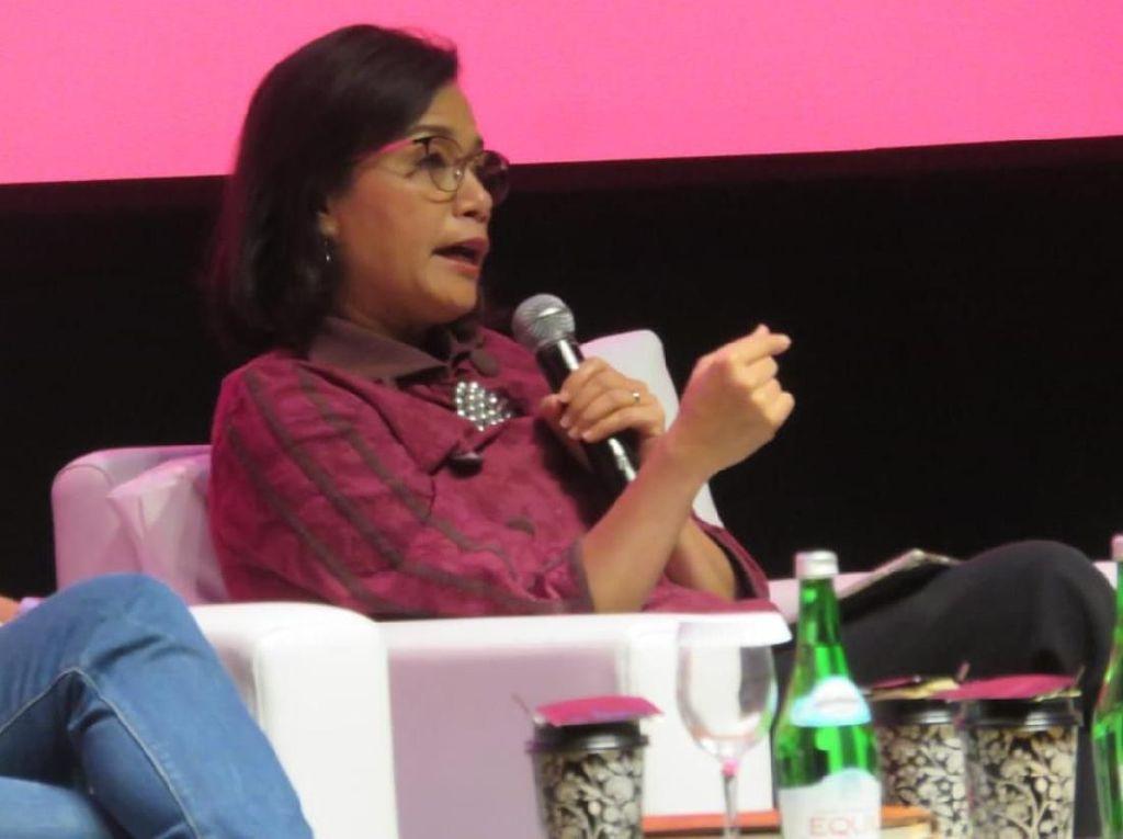 Sri Mulyani Minta Generasi Milenial Kurangi Baca Gosip