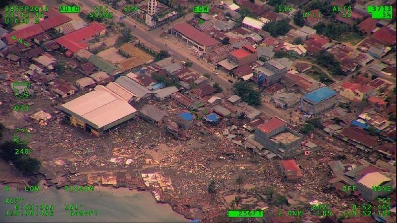 BNPB: Intensitas Gempa di Donggala dan Palu Menurun