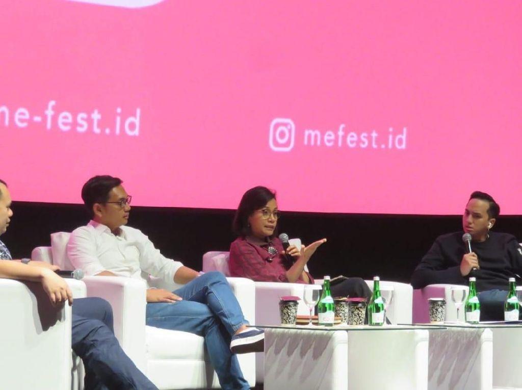 Kumpul Bareng Milenial, Sri Mulyani Bicara Ekonomi RI Terkini