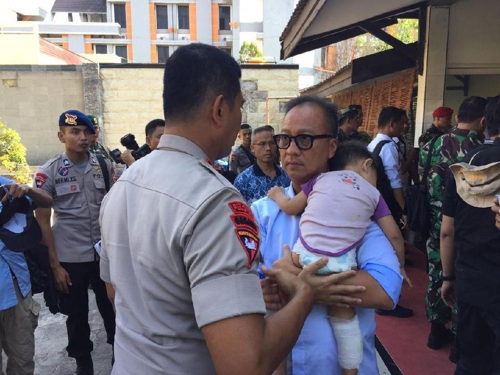 Cerita Mensos soal Bayi Korban Gempa Palu Terpisah dari Orang Tua